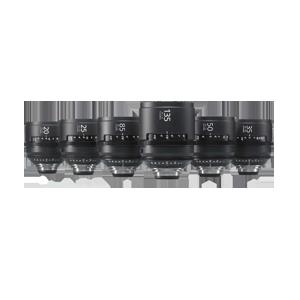 Sony CineAlta 4K Six Lens Prime Kit